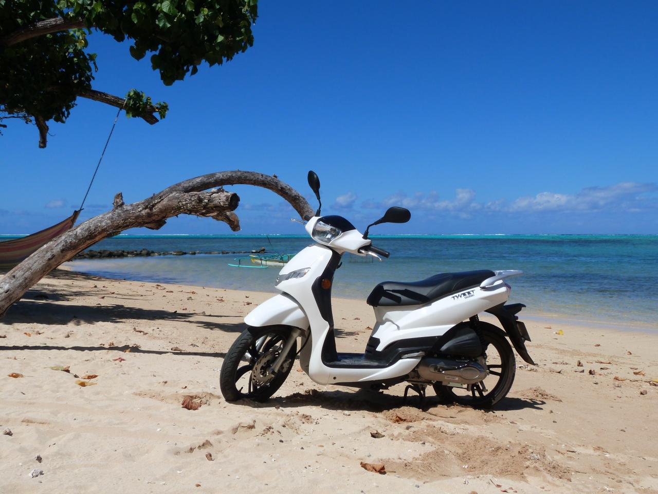 TWEET Haapiti's Beach